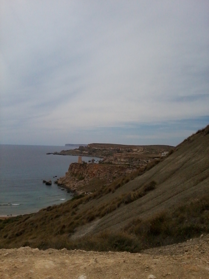 Looking From the Hill at One of the Bays in This Area