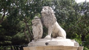 The Lion Fountain, Floriana, Malta