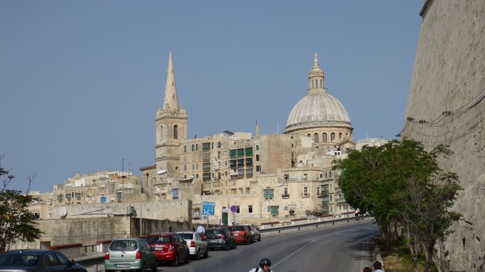 Close to the Well Known Churches in Valletta - Basilica of Our Lady of Mount Carmel and St. Paul's Pro-Cathedral