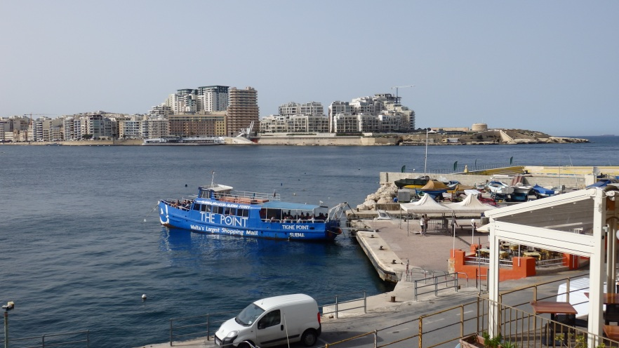 The Ferry from Valletta to Sliema