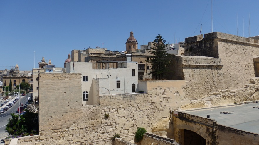 View from Fort St. Angelo, Malta