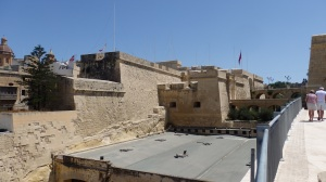Fort St. Angelo with Bridges, Malta
