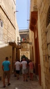 Narrow Lane, Birgu (Maltese) or Vittoriosa (Italian), Malta