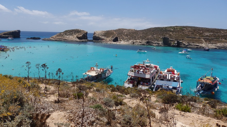Comino, Blue Lagoon and Cominotto, Malta