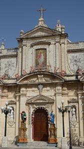 A Decorated Church, Rabat, Malta