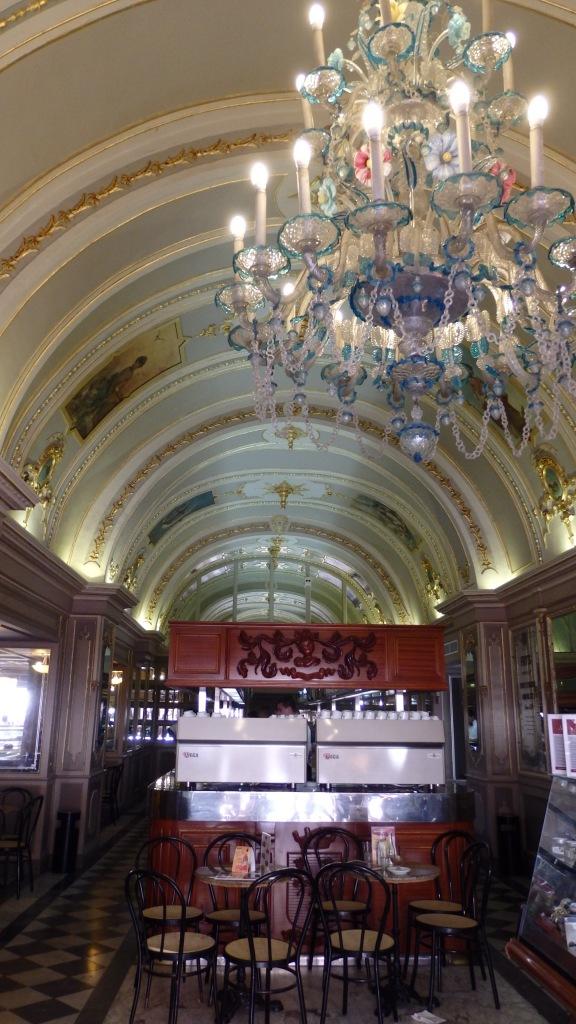 Inside the Caffe Cordina, Valletta, Malta