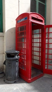 A Phone and a Litter Box, Valletta, Malta