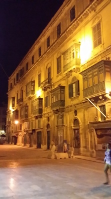 Street of Valletta at Night
