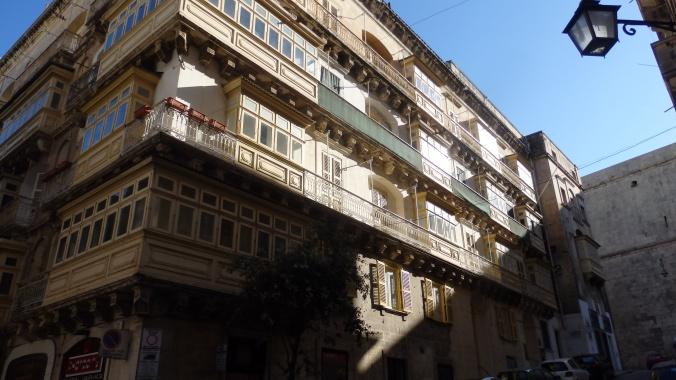 Balconies, Valletta, Malta, Europe