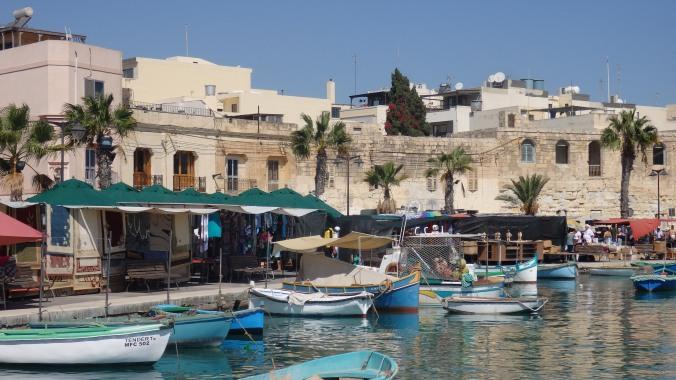 Marsaxlokk Harbor and City, Malta