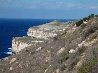 Dingli Cliffs, The Cliffs
