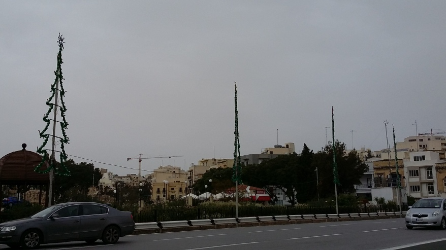 Christmas Lights in Msida, Malta