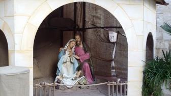 Crib at the Nunnery of St Benedict, Mdina, Malta