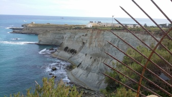 These cliffs are more amazing than the Dingli one's - White Cliffs between Marsaxlokk and Marsascala