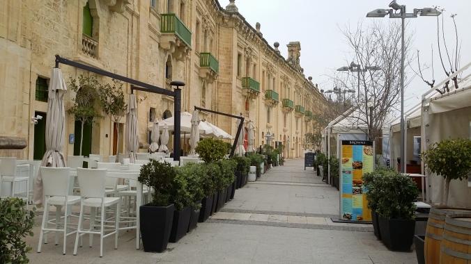 "Valletta Waterfront - Seen from the Restaurant ""Browns"""