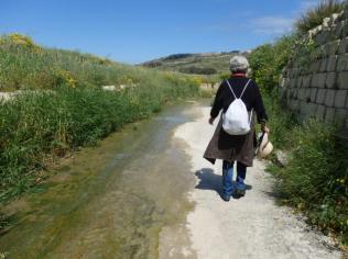 Water on and Slippry Way (Ramla Walk)