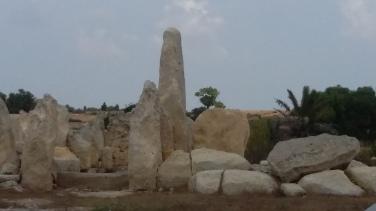 Hagar Qim Temple - Raised Stone