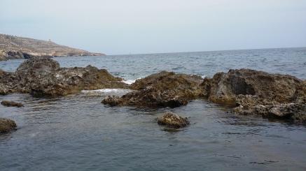 Rocks at Ghar Lapsi