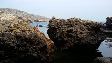 Big Rocks at Ghar Lapsi