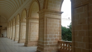 Inside the Maltese Dominican Monastery