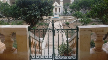 Outside the Maltese Dominican Monastery