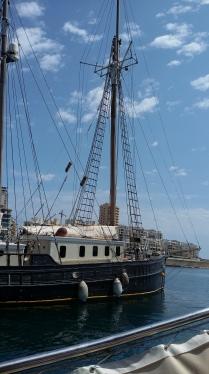 Sailing Boat in Marsamxett Harbour