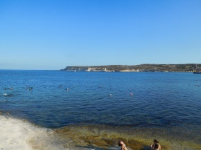 Malta - Marsaskala - S:t Thomas Bay - Beach and View
