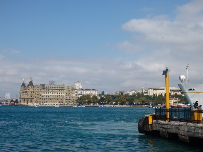 Kadikoy Harem (Harbour) with View on Europe