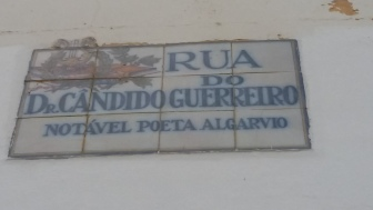 "The Rua do Dr. Candido Guerreiro - ""Rua"" means street, ""do"" means of."