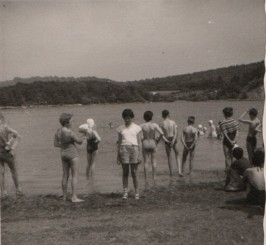 1962 - Swim time, but unfortunately not for me