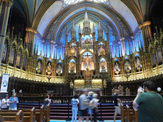 Notre Dame Montreal - Interior