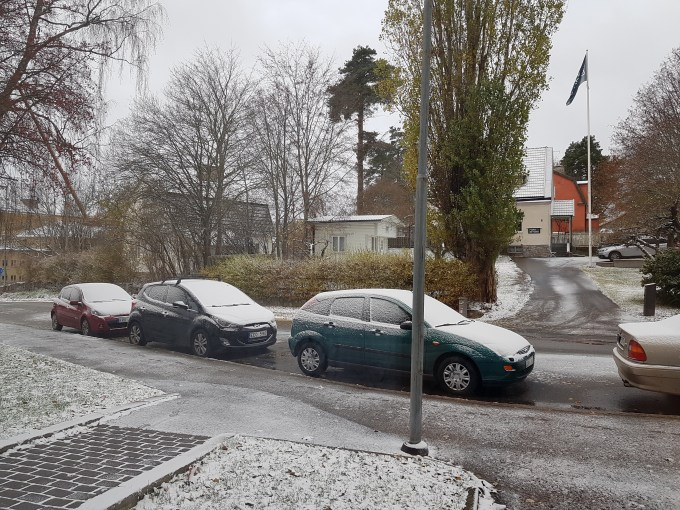 The First Snow for this Winter