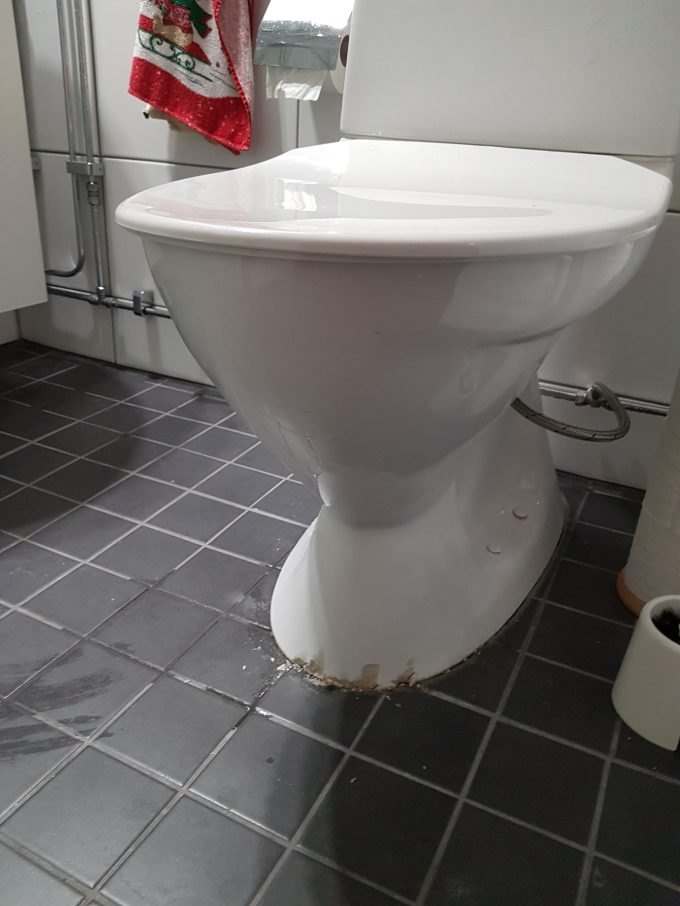The Broken Toilet