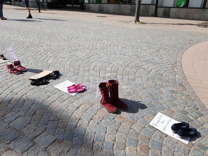 Skostrejk for klimatet - Katrineholm