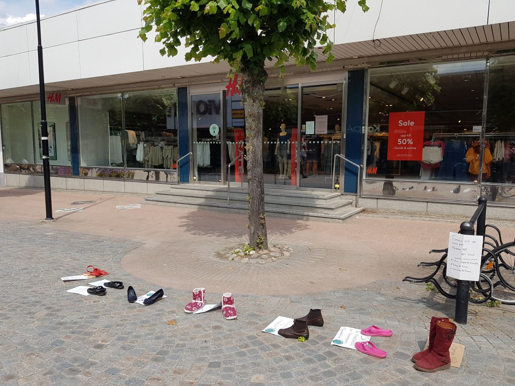 Shoe Strike Centrum of Katrineholm